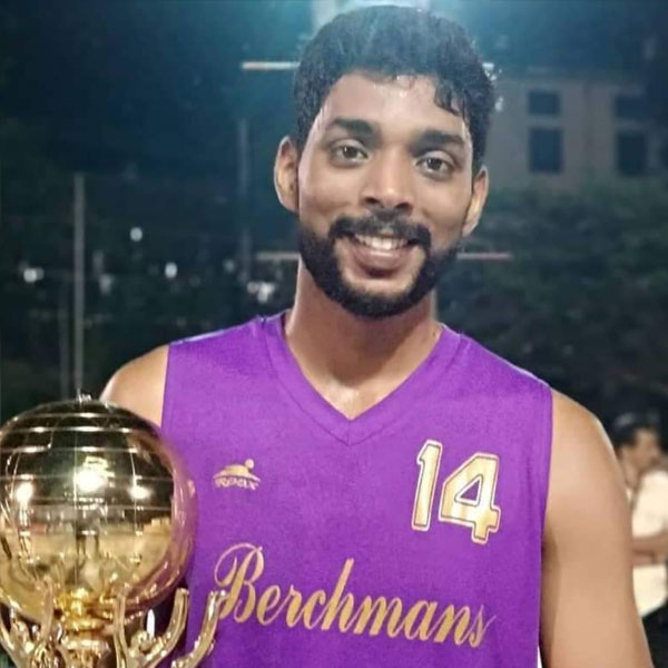 Indian Youth Basketball Player